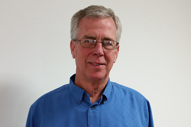 Joe Neary - the Dept Head for Environmental Health